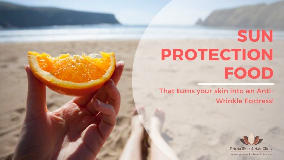 5 Sun-Protection Foods to Turn Your Skin into an Anti-Wrinkle Fortress